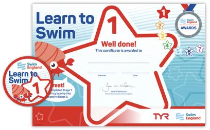 Learn to Swim awards