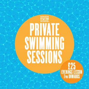 Private 121 swimming lessons from £25
