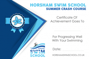 Intensive crash course swimming Horsham